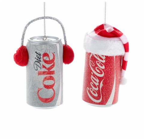 Coca- Cola Can Ornament