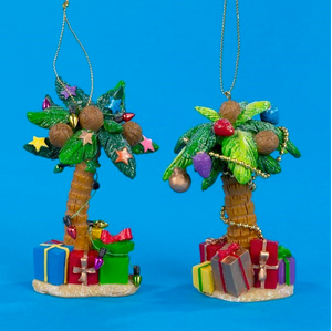 Palm Tree Chrismtas Ornament