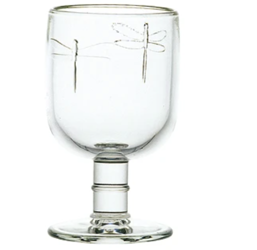 632401 Dragonfly Water Glass