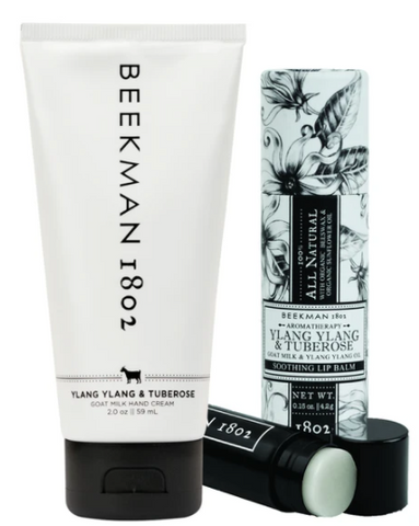 Beekman 1802 Hand Cream & Lip Balm