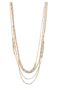 Necklace : Sincerity : Rose Gold Plated