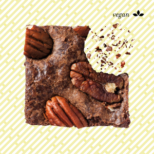 VEGANER BIO BROWNIE PEKANNUSS | 4 Stk.