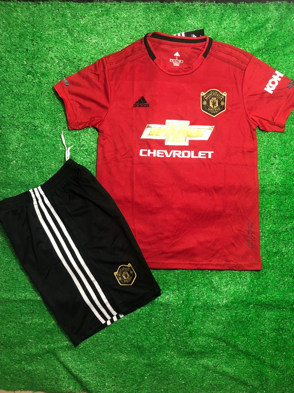 Manchester United Home Set 2019 20 With Shorts Indian Sports Store