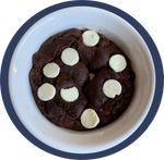 Dark Chocolate Cookie with White Chocolate Chips