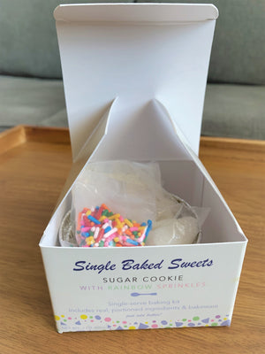 Sugar Cookie with Sprinkles - Single Baked Sweets