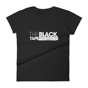 Women's Black Short Sleeve Black Tape Project T-Shirt - The Black Tape Project