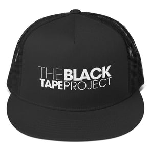 Black Tape Project White Embroidered Cap