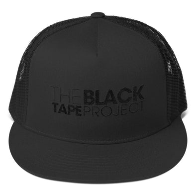 Black Tape Project Black Embroidered Cap - The Black Tape Project