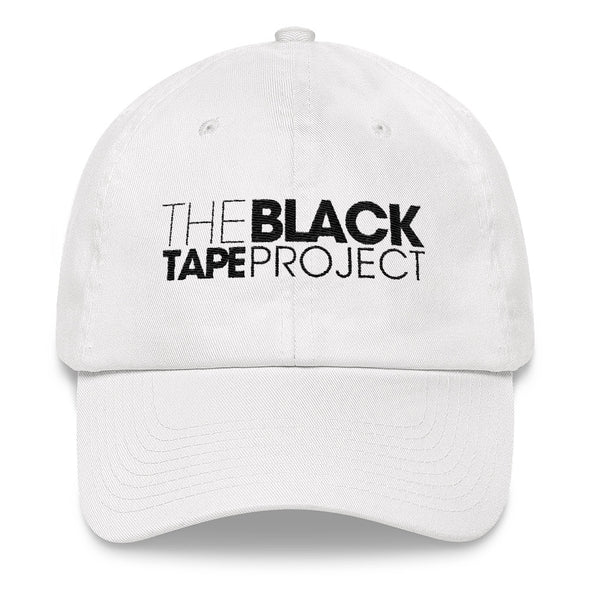 White Black Tape Project Dad Hat - Black Tape Project