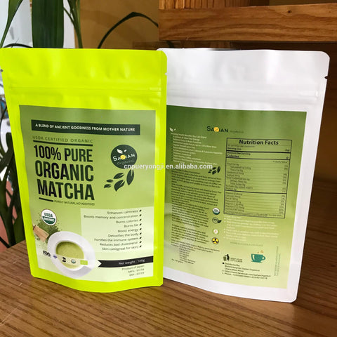 Jade Leaf Matcha Green Tea Powder  Organic Certified Antioxidants Energy Boost.Increases Energy and focus,Natural weight loss