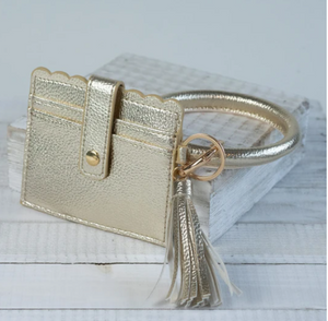 Bangle Cardholder Keychain