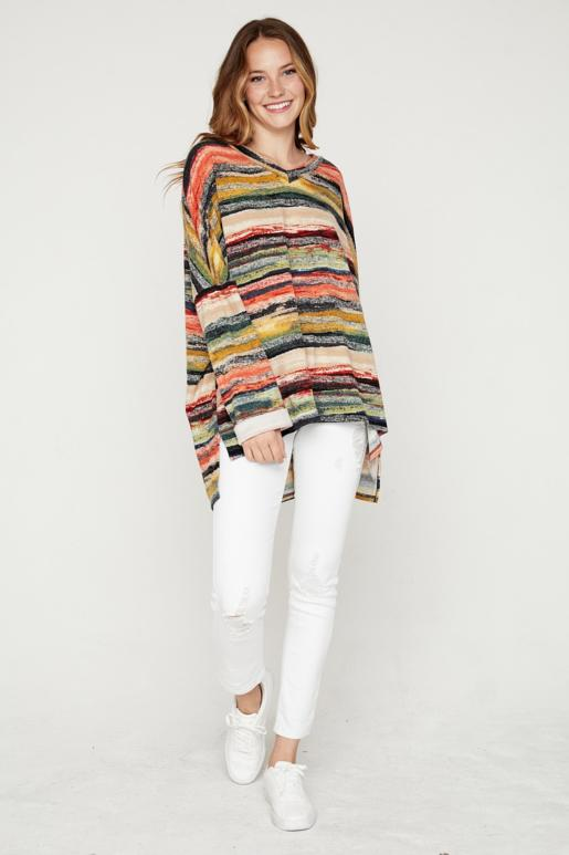 Sunset Stripes Tunic