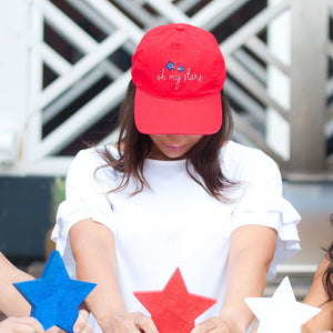Oh My Stars Red Cap