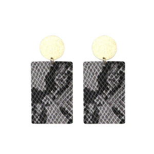 Snakeskin Kara Earrings