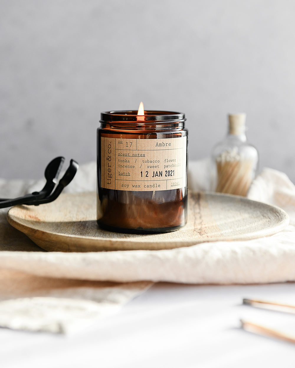 Ambre Candle Jar