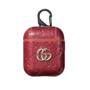 Gucci GG Style Leather ShockProof Case for Apple Airpods 1 & 2