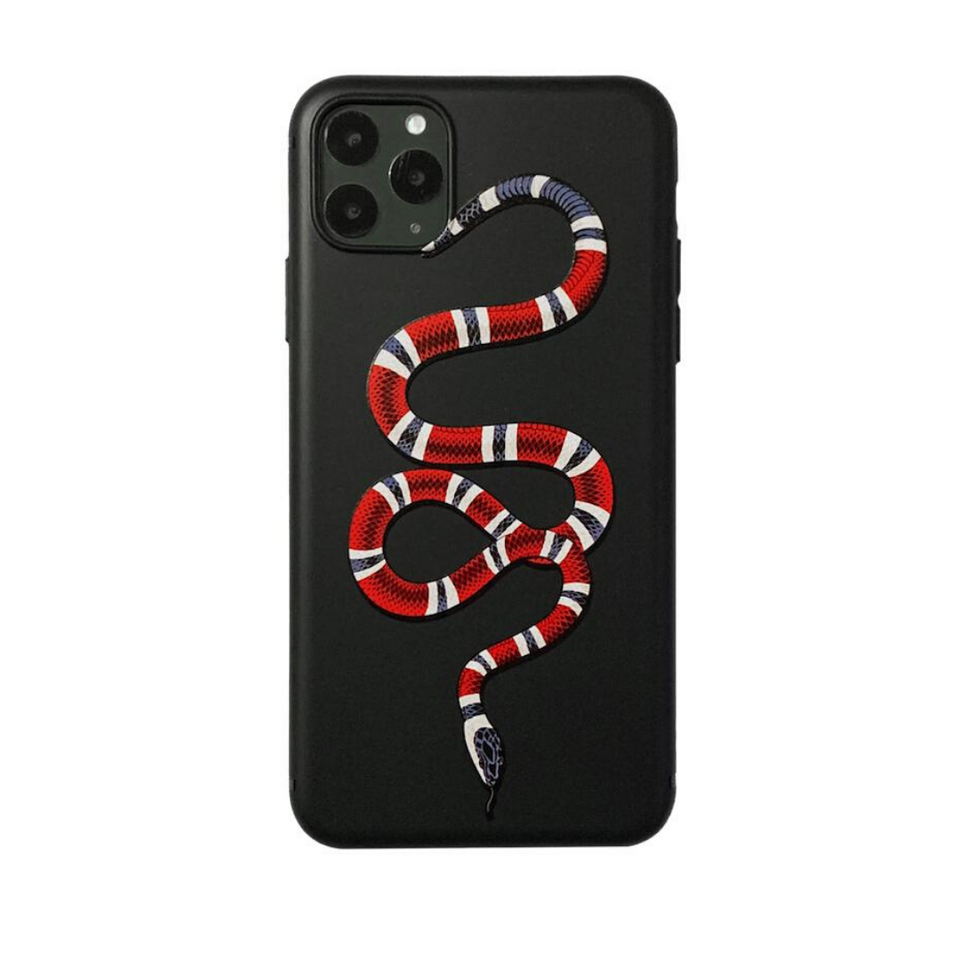 Red Snake iPhone Case