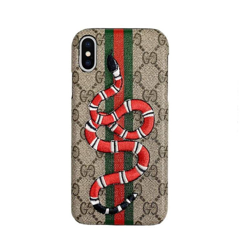 Snake GG iPhone Case