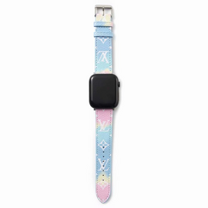 Rainbow LV Apple Watch Band