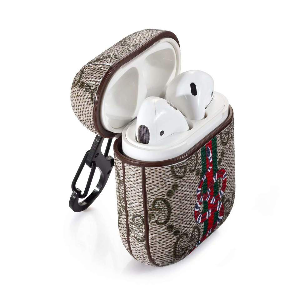 Snake Style Luxury Shockproof AirPods Case