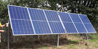 Solar pumps for UK dairy farm