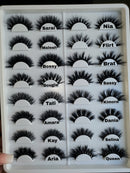 16-18mm Lash Book