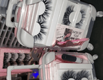 Lash Luggage (LARGE hold 12 pairs) LASHES NOT INCLUDED!