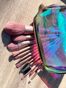 12 Piece Set -Summer Collection Makeup Brushes