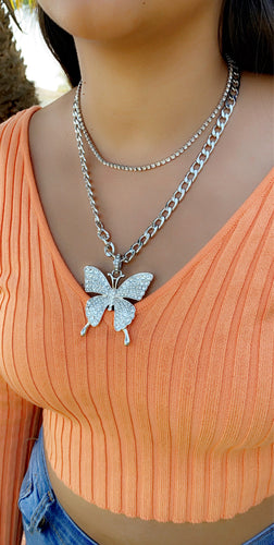Butterfly Vibes necklace