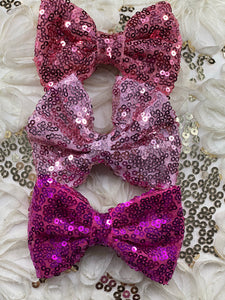 Pink Bundle Bow