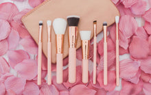 Load image into Gallery viewer, 8 piece makeup brushes