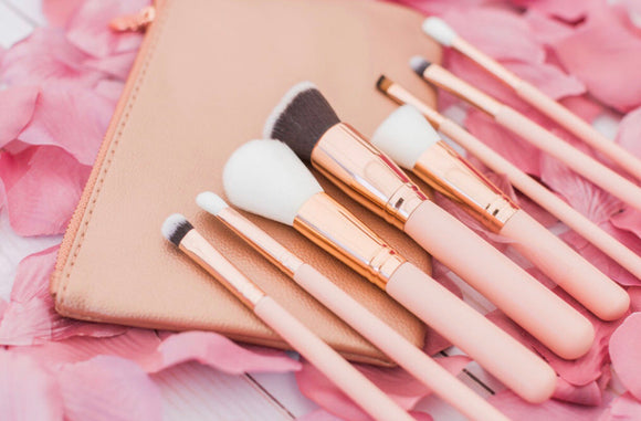 8 piece makeup brushes