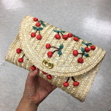 Vintage Cherry Embroidered Bag - pieces-by-jenny