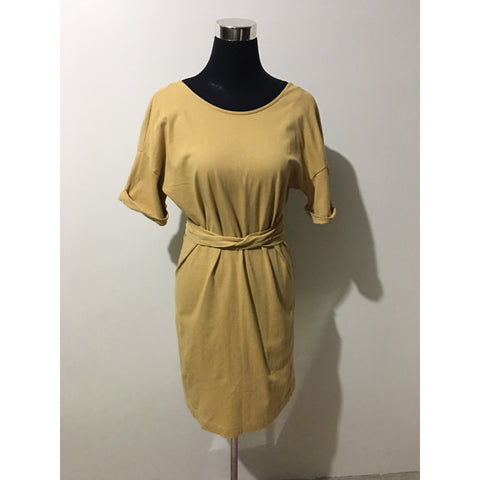 ZARA Light Brown Two Way Dress