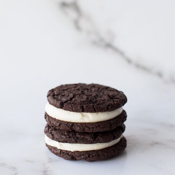 Crave Cupcakes - Chocolate Cream Cheese Sandwich Cookie