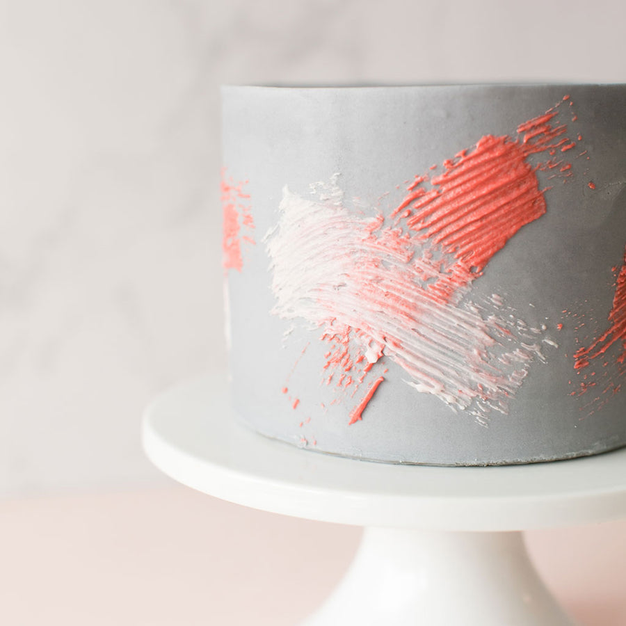 Paintbrush Cake