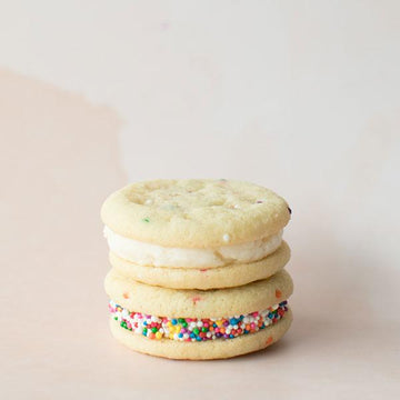 Confetti Sandwich Cookie