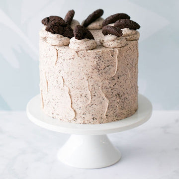 Santa's Cookies and Cream Cake