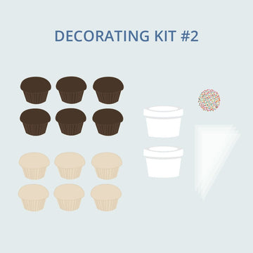 Decorating Kit #2 | Cupcakes