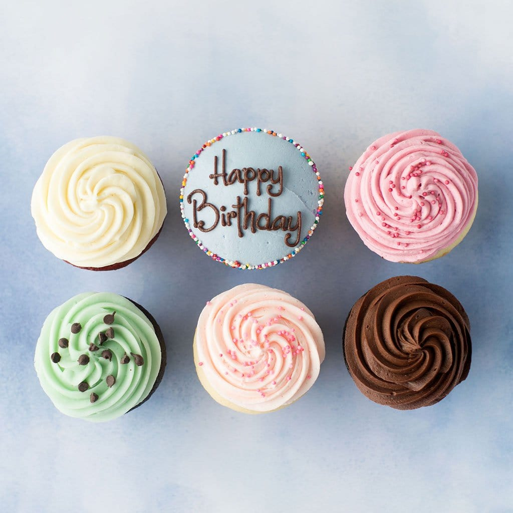 Build Your Own Specialty Cupcake Half Dozen - starting at $25.00
