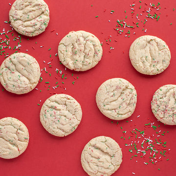 Holiday Confetti Cookie