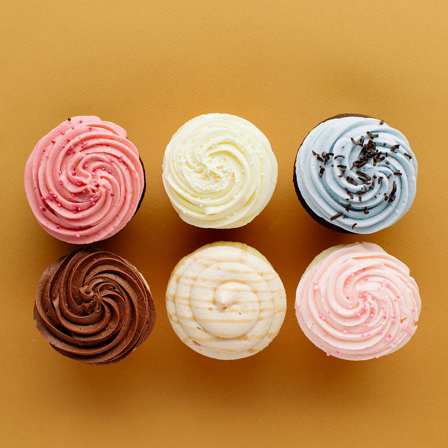 January Original Cupcake Half Dozen