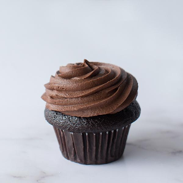 Crave Cupcakes - Just Chocolate Cupcake