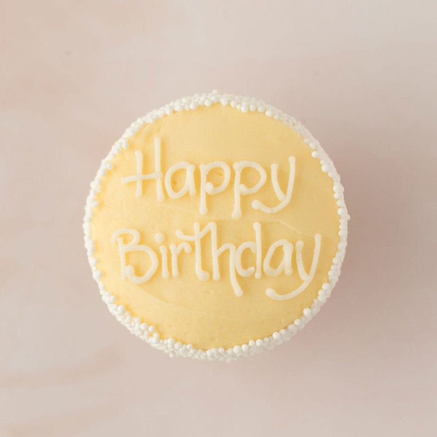 Crave Cupcakes - Happy Birthday Lemon