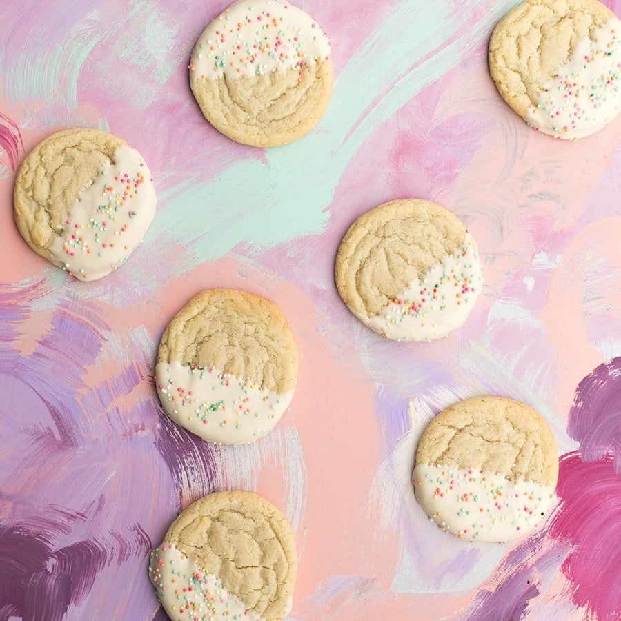 Lemon White Chocolate Cookie