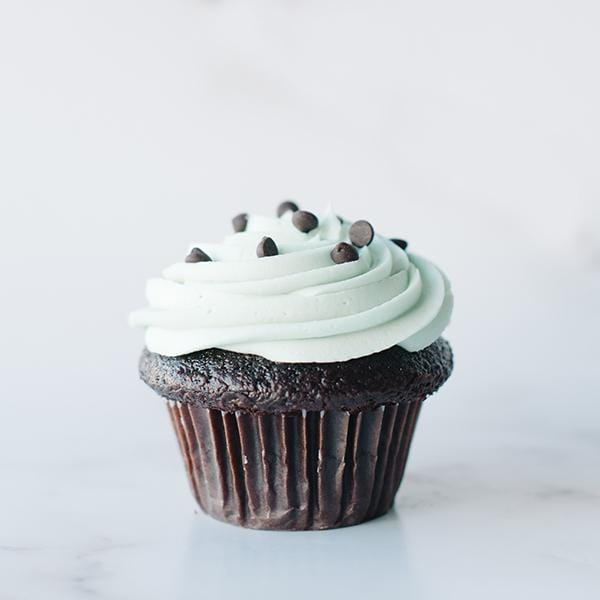 Crave Cupcakes - Mint Chip Cupcake