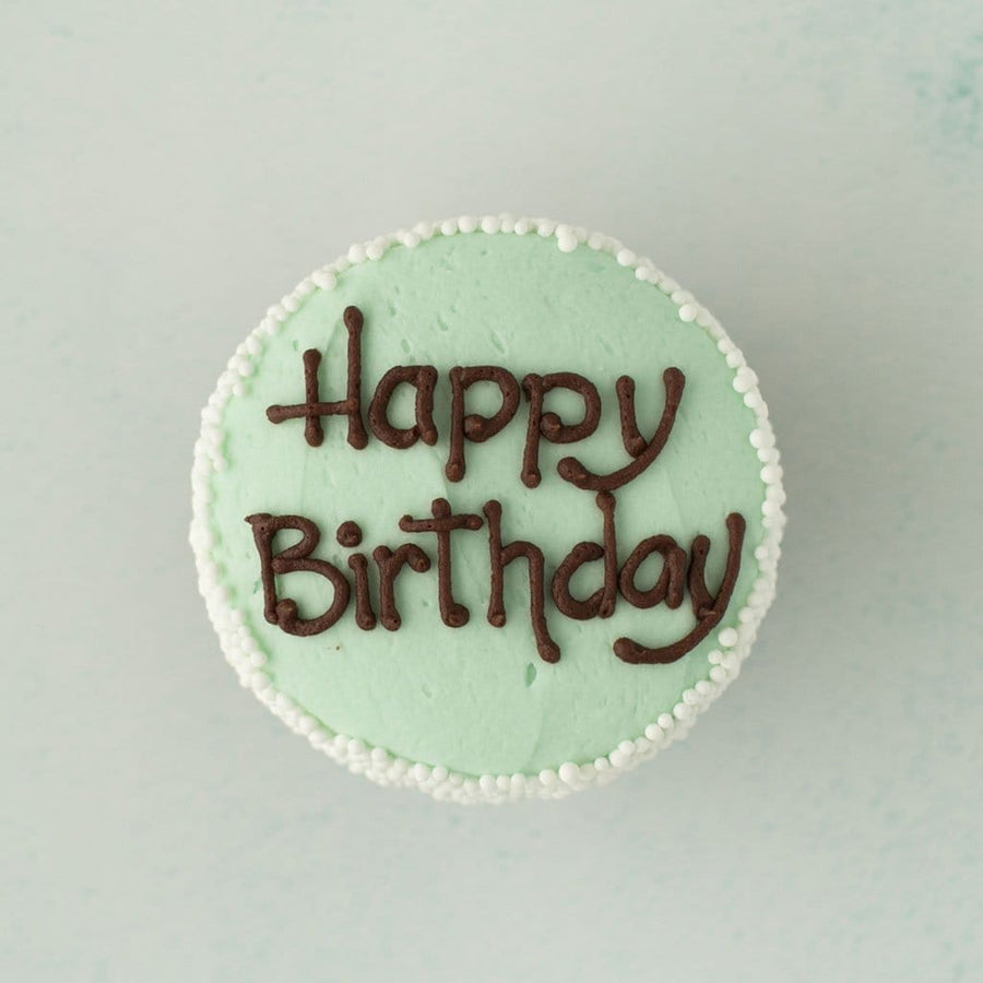 Crave Cupcakes - Happy Birthday Mint