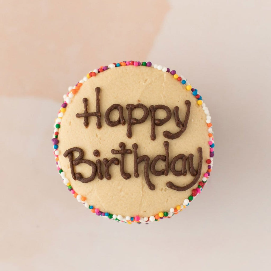 Crave Cupcakes - Happy Birthday Peanut Butter