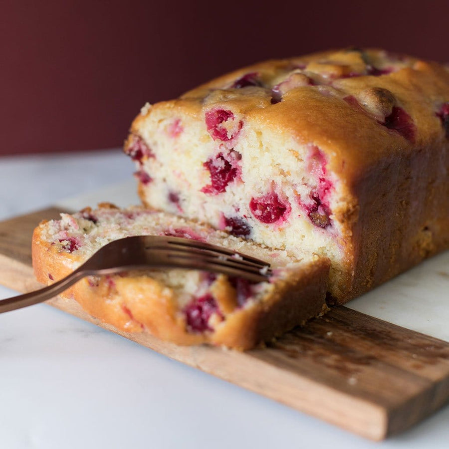 Crave Cupcakes - Orange Cranberry Loaf