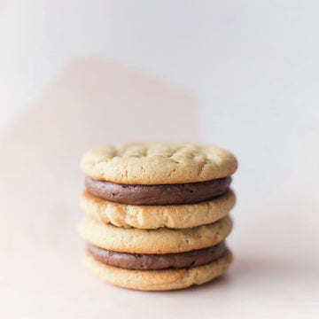 Peanut Butter Milk Chocolate Sandwich Cookie